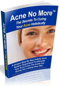 acne no more book cover