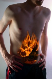 Irritable Bowel Syndrome Treatment is Possible stomach on fire