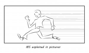 treatment for ibs cartoon