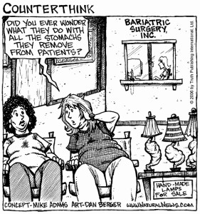 What Are Some Weight Loss Surgery Options cartoon