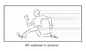 treatment for ibs cartoon